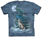 The Mountain Men's Dragon Wolf Moon T-Shirt