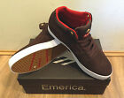 Emerica The Hsu G6 X Chocolate Shoe Brown/White