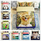 Animals Duvet Cover Single Queen King Size Bed Linen Quilt/Doona Cover Set Dogs