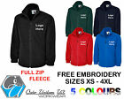 Kyпить Personalised Embroidered Full Zip Fleece, Jumper, Workwear, Uniform, Business на еВаy.соm