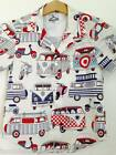 Made to order VW Camper van casual Mens Hawaiian shirt All sizes Available