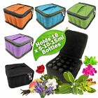 AROMATHERAPY / ESSENTIAL OIL CARRY ~ TRAVEL ~ STORAGE CASE / BAG ~ FREE GIFT .