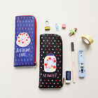 HIMORI With Alice - Cute Pen Case - Slim Light Zipper Pen Case - Accessory Pouch