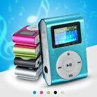 Mini MP3 Music Player USB Clip With Digital LCD Screen 32GB Micro SD TF Card