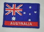 AUSTRALIA FLAG AUSTRALIAN AUS Embroidered Sew Iron On Cloth Patch Badge APPLIQUE