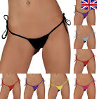 NEW Womens Sexy G-String Thong Ladies Underwear Lingerie Pack 8 10 12 14 16 18