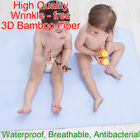 105x70cm Bamboo Fiber Changing Mat Antibacterial Breathable Infant Urine Pad