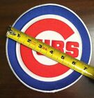 """Chicago Cubs Patch 7"""" dia. large size, BEST DEAL WE HAVE SEEN"""