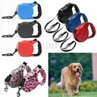 5M 8M Automatic Pet Dog Cord Retractable Extending Lockable Walking Leash Lead
