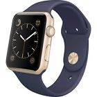 Apple Watch 38MM 42MM Gold Silver Aluminum Rose White Black Blue Nylon Band