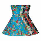 1940's WW2 Vintage Retro Style Floral Lightweight Cotton Tea / Day Dress 8 - 20
