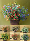 6 stems Roadside breathing spring flowers artificial silk artificial flowers