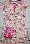 Baby Babies Girls Peppa Pig Nightdress Sleepwear Pyjamas NEW Ages 1-6
