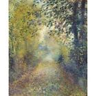 1877 Pierre-Auguste Renoir In The Woods Impressionist Painting Art New Poster