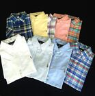 New Polo Ralph Lauren Men's Short Sleeve Slim Fit Oxford Shirt
