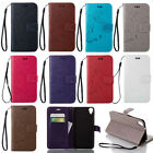 2016 Embossed Butterfly Magnetic Flip PU Leather Wallet Case Cover For Phone (1