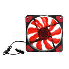 120mm 3-Pin/4-Pin PWM PC Computer Case CPU Cooler Cooling Fan with LED Light