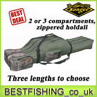Konger 2 or 3 compartments holdall to transport your rods safely,  case,  rucksack