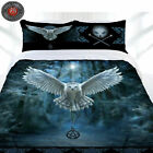 Awaken Your Magic Flying Owl Quilt Cover Set by Anne Stokes - DOUBLE QUEEN KING