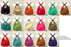 New Leather Backpack Purse Sling Bag Shoulder Handbag Adjustable Strap