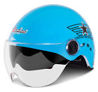 F#17 Scooter Helmet Bicycle Biking Summer Motorcycle Casco Motorbike UV Two Lens