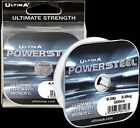 ULTIMA POWER STEEL 300m ULTIMATE STRENGTH MONOFIL  - ASSORTED WEIGHTS