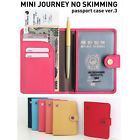 Mini Journey No Skimming/Hacking e-Passport Case Cover V.3_Travel Card Holder