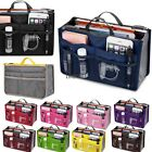 Insert Handbag Organiser Purse Liner Organizer Women Storage Bag Tidy Travel LM