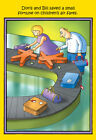 Children's Air Fare Funny Stan Eales Birthday Card - Greeting Card by Nobleworks