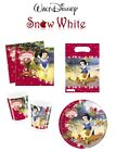 Snow White Birthday Party Decoration Tableware Plates Cups Napkins Loot Bags