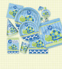 1st First Birthday Party, Baby Boy, Turtle, Tableware, Partyware, Decoration