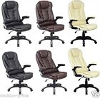 Swivel Reclining Office Furniture Computer Desk Chair in PU Leather