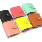 New 24 Cards Pu Leather Credit ID Business Card Holder Pocket Wallet UK