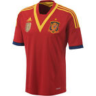 adidas Men's Spain 12/13 Home Jersey University Red/Real Blue X53272