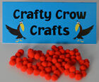 5mm POM-POMS IN PACKS OF 100 PIECES 12 BEAUTIFUL COLOURS AVAILABLE