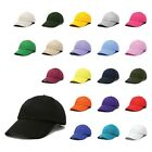 DALIX Unisex Cotton Cap Adjustable Plain Hat - Unstructured (14 Colors)
