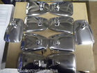 VESPA MOD STYLE CHROME BACKED SMOOTH MIRRORS CHOOSE YOUR QUANTITY