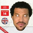 Lionel Richie 1980's Celebrity Card Mask - Fun For Parties