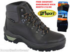 MENS GRISPORT STORM -  BACK PACKING WALKING BOOTS - WATERPROOF  FREE P&P