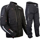MotoDry NEW Advent-Tour Motorcycle Black Road Offroad Adventure Jacket & Pants