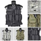 Tactical Military Hunting Combat Vest with Pistol Gun Holster Pouch