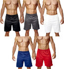New Mens Jogging Running Football Gym Sports Breathable Shorts Sizes S M L XL