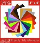 "4"" Tile stickers self adhesive transfers packs of  5, 10,20,30,40,50 easy apply"