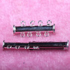 5 10Sets Multi-Row Gold Silver Plated Magnetic Clasp For Necklace Jewelry Making