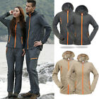 New Men Outwear 3in1 Waterproof Windstoper Coat Soft Shell Fleece Outdoor Jacket
