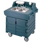 Hand Sink Cart - Portable Hand Sink - Wait Stations with Storage! - for Catering
