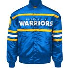 Authentic Golden State Warriors Official NBA nylon showtime jacket