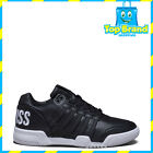 MENS SHOES K-SWISS GSTAAD BL LOW BLACK SHOE DONT PAY $159 - FEW LEFT