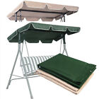"US Outdoor Swing Top Cover Canopy Replacement Porch Patio 66""x45"" 75""x52""77""x43"""