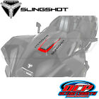 NEW PURE POLARIS 2015 - 2016 SLINGSHOT OEM RED PEARL CENTER HOOD DECAL